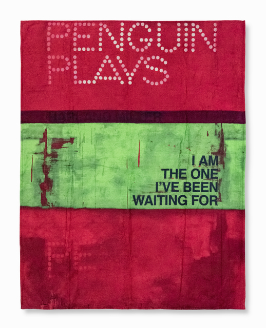 Harland Miller, 'I Am The One I've Been Waiting For (Beach Towel)', 2013, Tate Ward Auctions