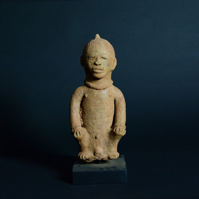 Unknown African, 'Katsina Sculpture of a Seated Man', 500 BC to 200 AD, Barakat Gallery