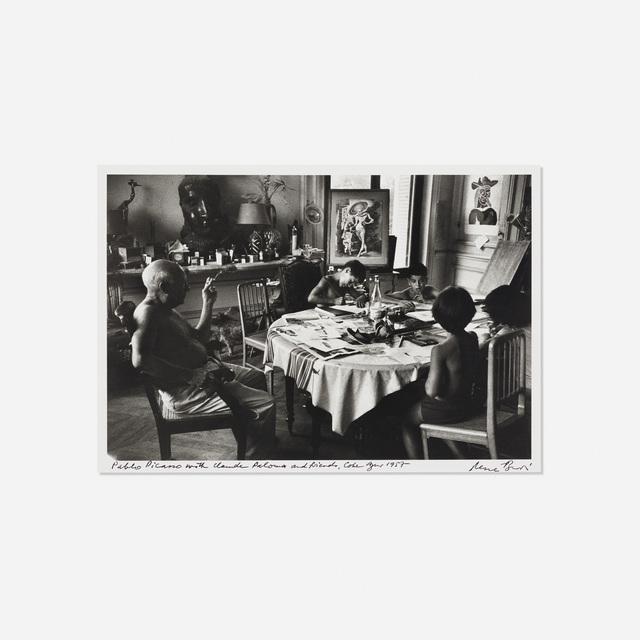 René Burri, 'Pablo Picasso with Claude Paloma and friends, Cote D'azur', 1957, Rago/Wright