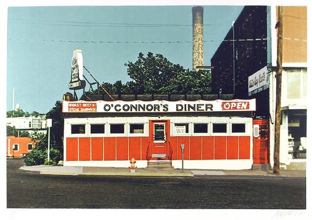 , 'O'Connor's Diner,' ca. 1980, RoGallery