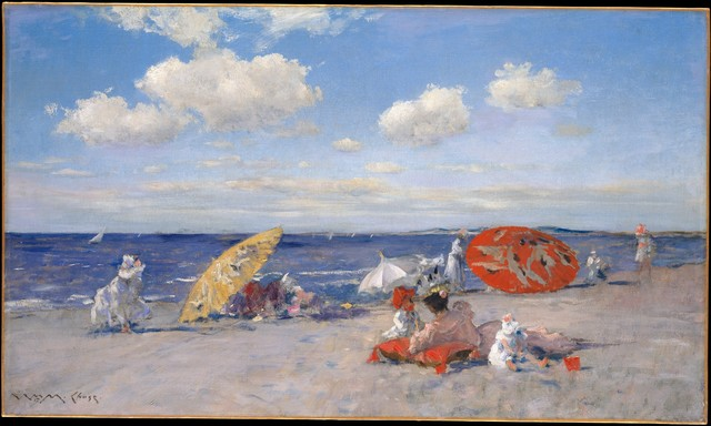 William Merritt Chase, 'At the Seaside', ca. 1892, The Metropolitan Museum of Art