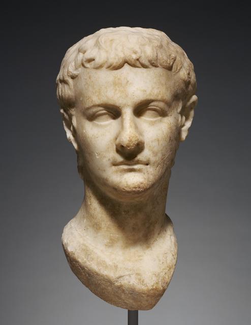 'Portrait Head of Caligula',  about 40, J. Paul Getty Museum