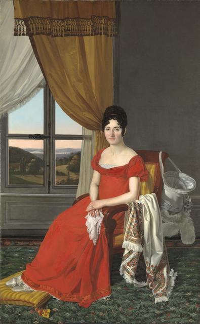 , 'Portrait of a Lady from Lucca (Maria Domenico Paglicci?),' 1823-1825, Brun Fine Art