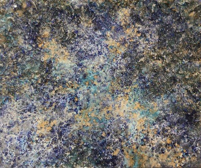 Victoria Kovalenchikova, 'The Earth XVII (2015-2019)', 2015-2019, Painting, Mixed media on canvas, Villa del Arte Galleries