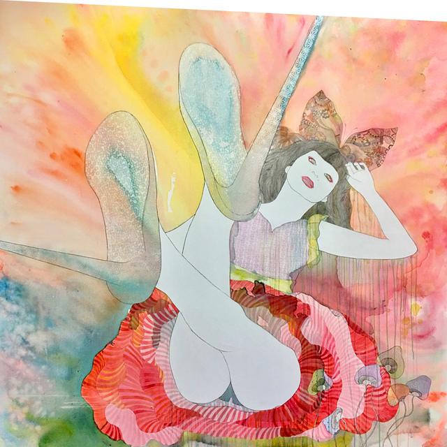 KAORUKO, 'IDOL 1', 2018, Painting, Acrylic, Corridor Contemporary