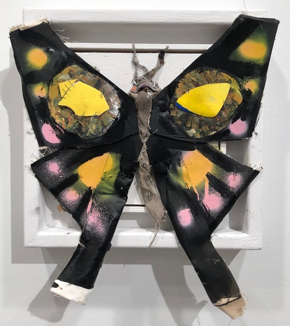 James Gortner, 'Butterfly (Black)', 2018, Lyons Wier Gallery