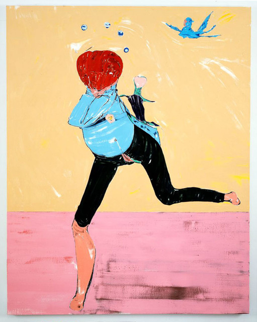 Nicola Tyson, 'Running Figure', 2008, Sadie Coles HQ