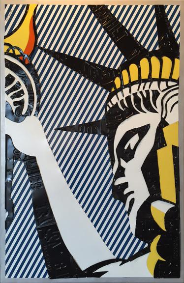 , 'Ode to Lichtenstein - Liberty,' ca. 2008, FP Contemporary