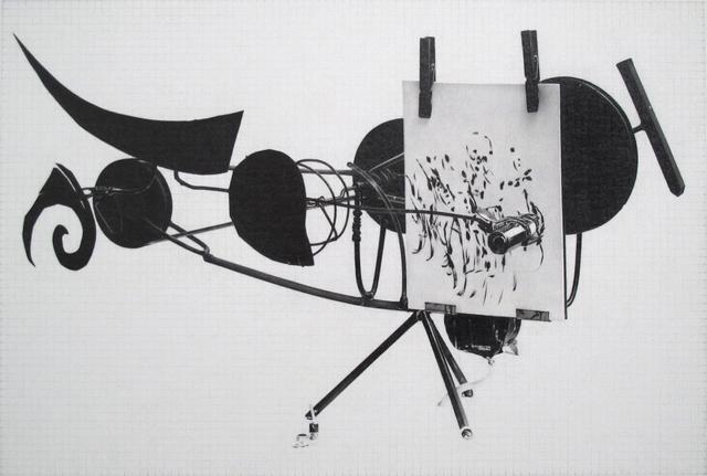 , 'Jean Tinguely, Meta-Matic No. 8,' 2014, Wilding Cran Gallery