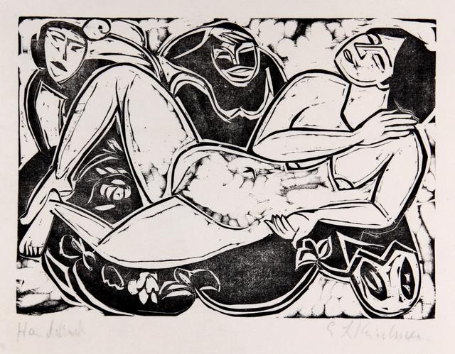 , 'Liegender Akt (Reclining nude),' 1911, Moeller Fine Art