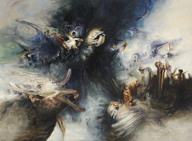, 'The Beginning of the Rain,' 1991, Charles Nodrum Gallery