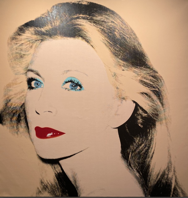 Andy Warhol, 'Unidentified Woman (Lady ... Sister)', 1980, Painting, Mixed media; polymer paint and silkscreen on cavas, Pellas Gallery