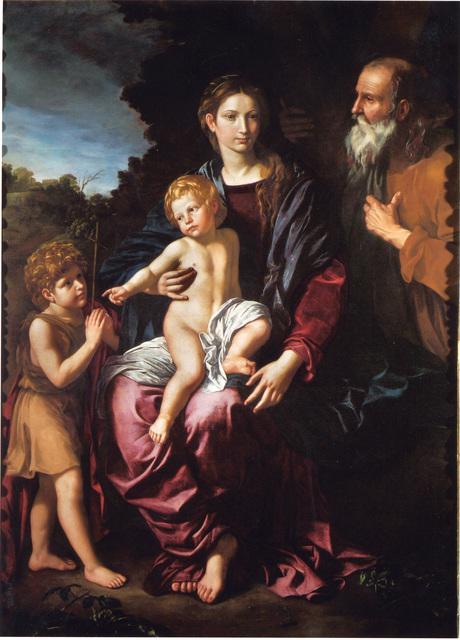 , 'Holy Family with the Young Saint John,' ca. 1620, Robilant + Voena