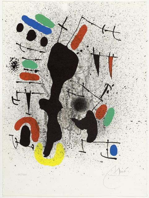Joan Miró, 'From: Liberté des libertés', 1971, Koller Auctions