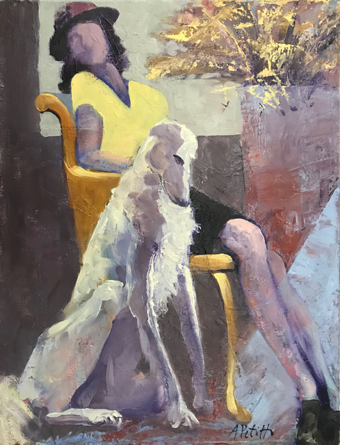 , 'In the Parlor,' , Addison Art Gallery