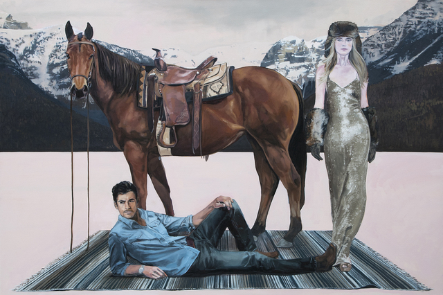 , 'A Man, a Woman and a Horse ,' , Visions West Contemporary