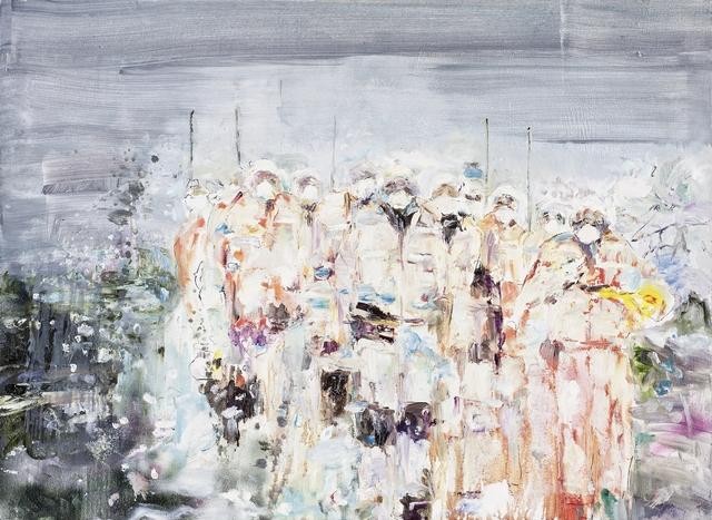 , 'Snowstorm,' 2011, Galerie Kornfeld