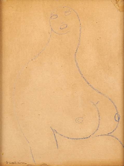 Gaston Lachaise, 'Untitled (Nude)', Rago