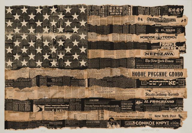 Massimo Vignelli, 'Melting Pot 1976 (United States is the Melting Pot, or Melting Pot of America)', 1989, Heritage Auctions