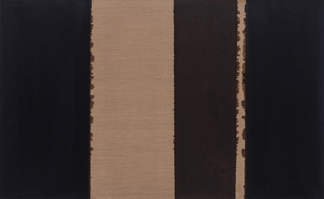 , 'Burnt Umber & Ultramarine,' 1989, Gallery Date