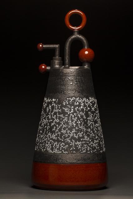 , 'Tall Red Conical Ewer,' 2017, Studio 21 Fine Art