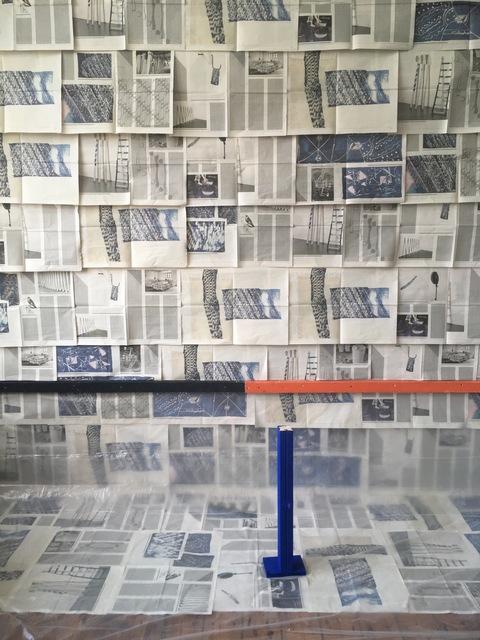 Ada Van Hoorebeke, 'Vuurtongen muur 2019', 2019, Tatjana Pieters