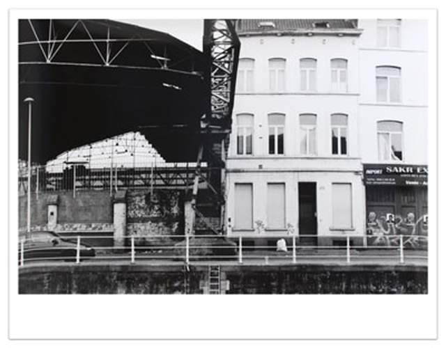 Peter Downsbrough, 'Untitled, Brussels', 2006, Photography, Silver gelatin photograph, Krakow Witkin Gallery