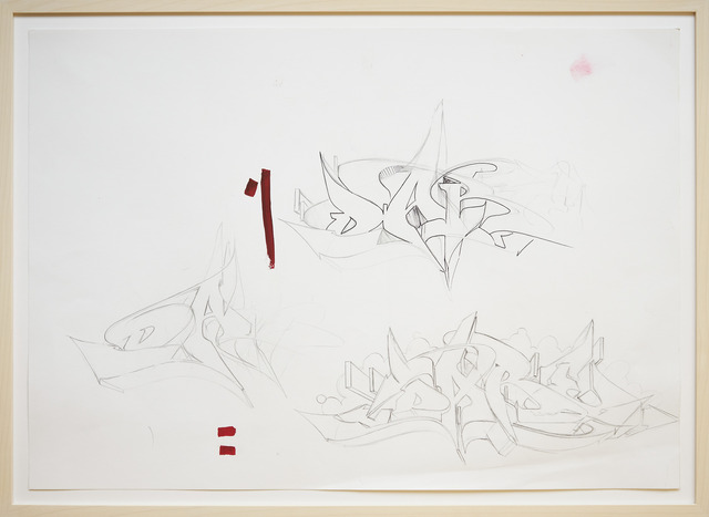 DARE (Sigi von Koeding), 'Memories 4', 2020, Drawing, Collage or other Work on Paper, Ink and carbon on paper, KOLLY GALLERY