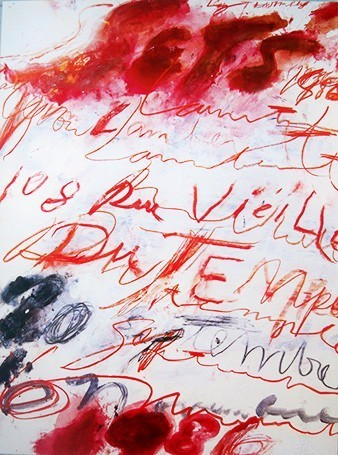 Cy Twombly, '1986', 1986, EHC Fine Art