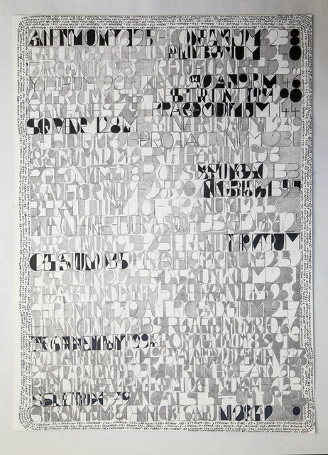Jean-Luc Vilmouth, 'Sans titre (Science For the Blind)', 2015, Drawing, Collage or other Work on Paper, Paper, pencils on paper, Jousse Entreprise