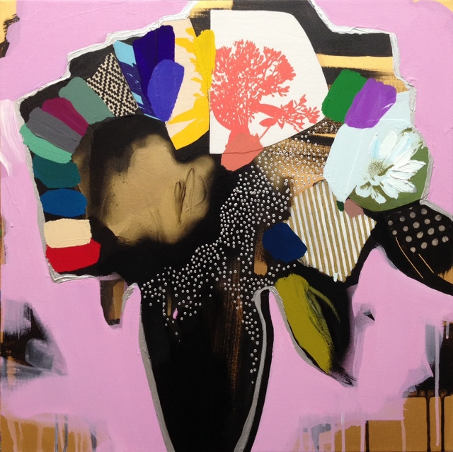 , 'Vase Of Flowers (Pale Pink),' 2016, Rebecca Hossack Art Gallery