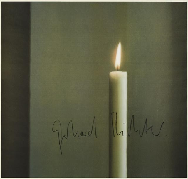 , 'Kerze I,' 1988, Ludorff
