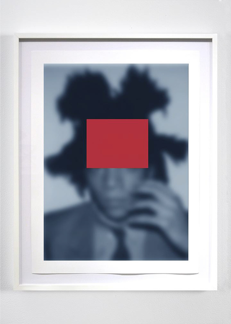 , 'Blue Notes (Basquiat): Who's Who or a Pair of Aces #1,' 2014, MARUANI MERCIER GALLERY