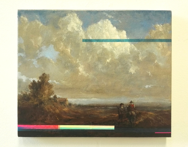 , 'Landscape with Horseman II,' 2017, Gibbons & Nicholas