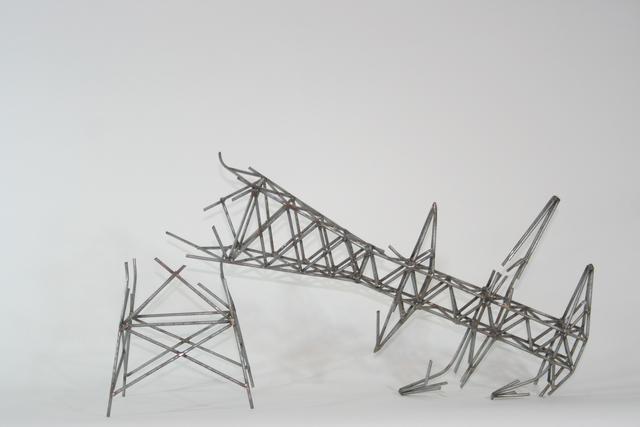 , 'Torre caida,' 2015, Galería de la Oficina