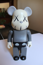 400% Gray Bearbrick