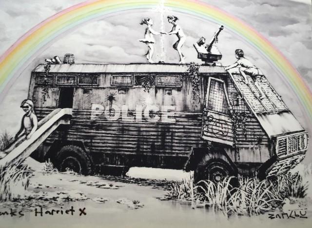 , 'Dismaland,' , Lawrence Alkin Gallery