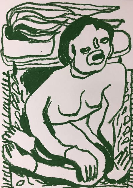 Conny Maier, 'HELENE FRANKENTHALER SITZEND', 2019, Ruttkowski;68