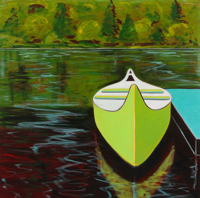 , 'Green Canoe,' 2017, Tasende Gallery