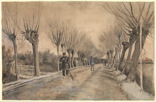 Vincent van Gogh, 'Road in Etten', 1881, The Metropolitan Museum of Art