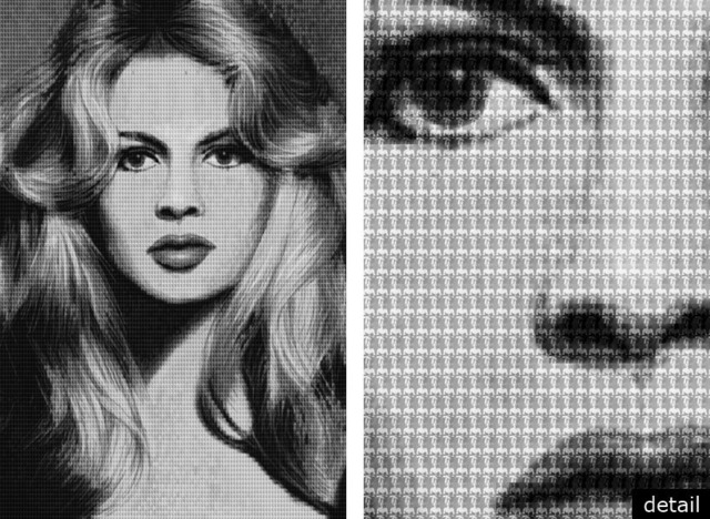 , 'BRIGITTEBARDOT vs CATHERINEDENEUVE, AFTER AVEDON,' 2010, Contessa Gallery
