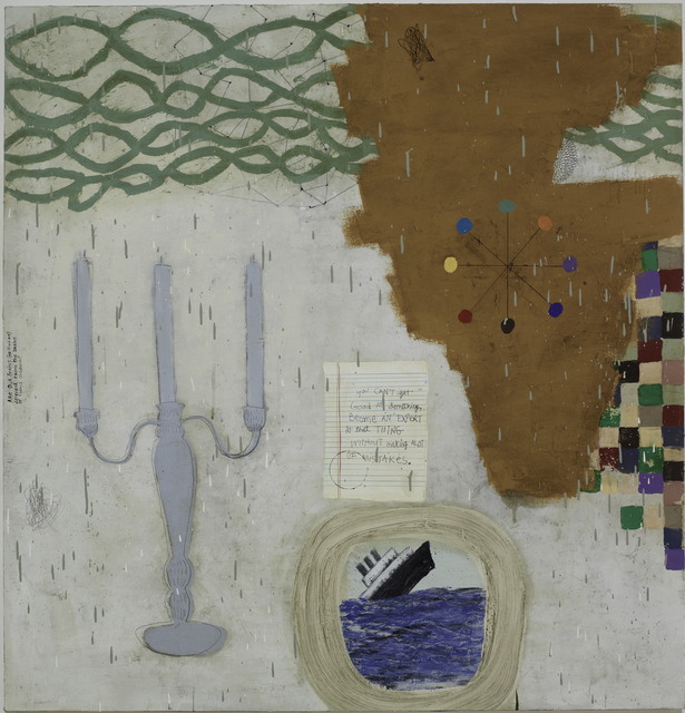 Squeak Carnwath, 'Get Good', 2012, Painting, Oil and alkyd on panel, Seager Gray Gallery