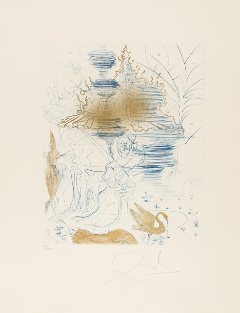 Salvador Dalí, 'The Pagoda (Field 69-13F; M&L 379a)', 1969-1970, Forum Auctions