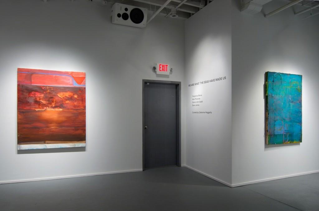 Paintings by Dana James and Daniel John Gadd