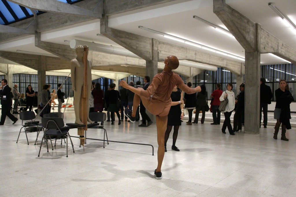 site specific performance for Collezione Maramotti
