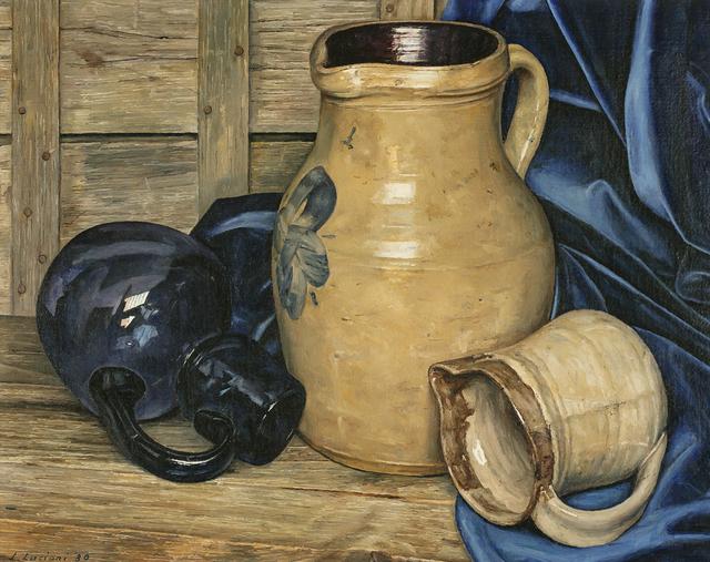 Luigi Lucioni, 'Deceptive Cadence', 1980, Painting, Oil on canvas, Questroyal Fine Art