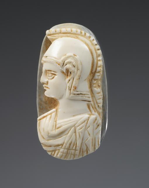 'Cameo gem',  3rd -4th century, J. Paul Getty Museum