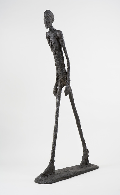 , 'Walking Man (Homme qui marche I),' 1960, Guggenheim Museum Bilbao
