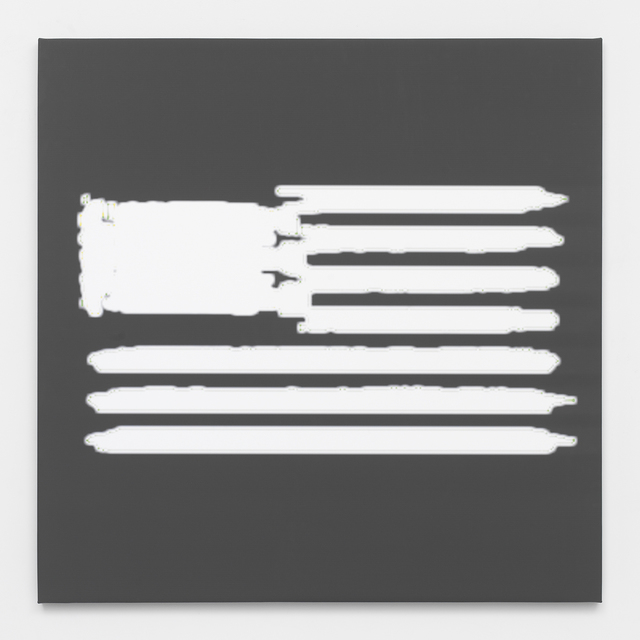 , 'Death Row Flag,' 2014, Feuer/Mesler