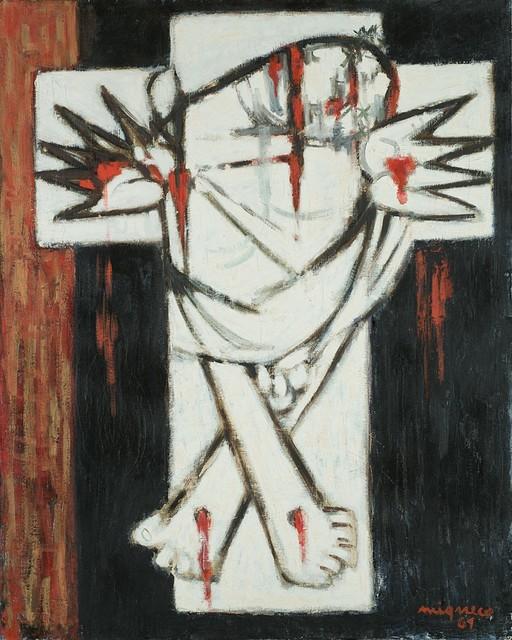 Giuseppe Migneco, 'Crocifissione', 1961, Finarte